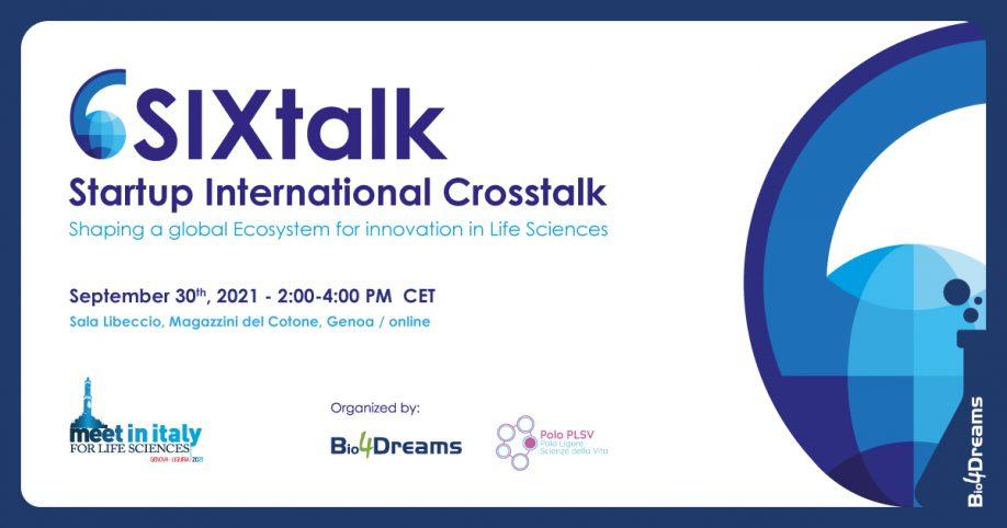 SIXtalk: Startup International Crosstalk