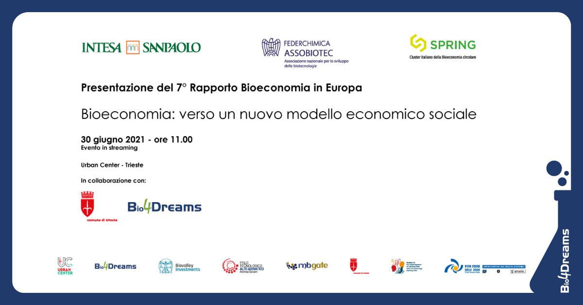 VII rapporto sulla bioeconomia in Europa