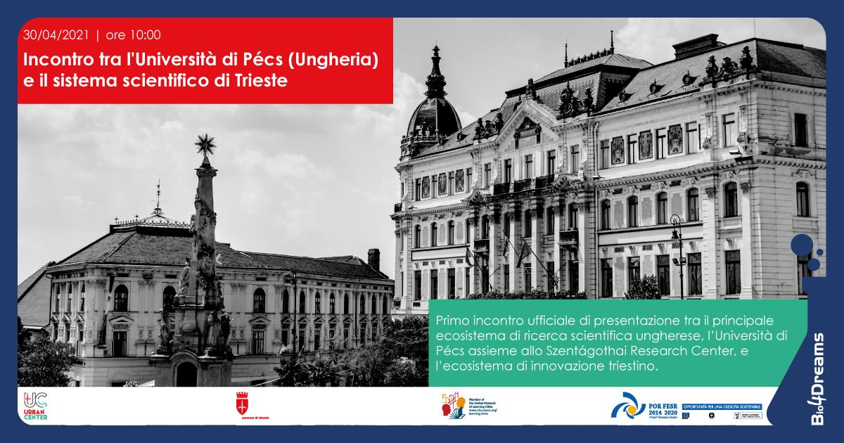 Incontro con Università Pécs